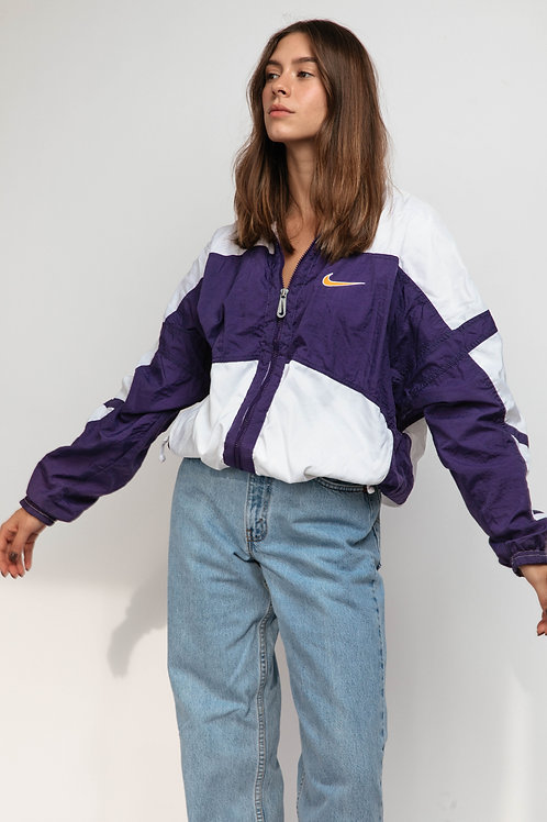 Nike Womans Windbreaker - Purple White