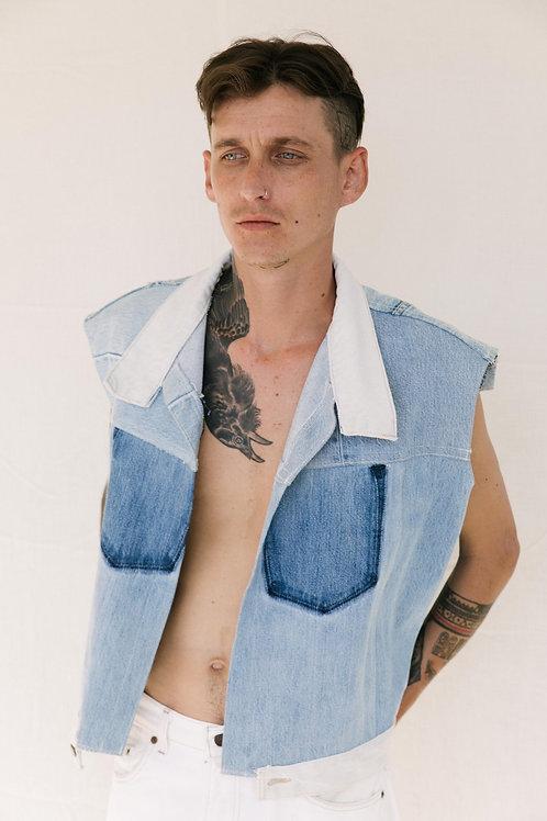 ReConstructed Custom Denim Vest