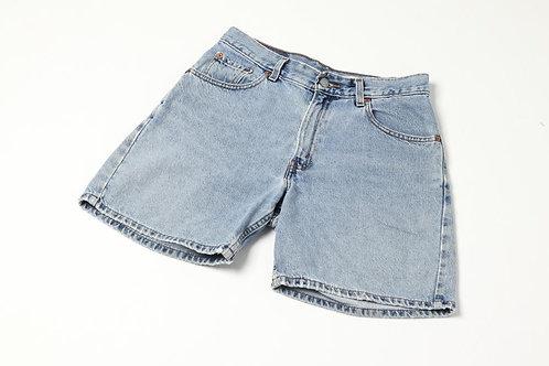 Levi's Light Denim Shorts - Long