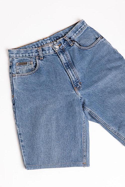 Calvin Klein Long Denim Shorts