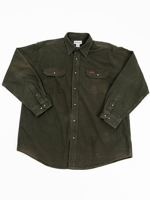 Carhartt Dark Green Button Down Shirt