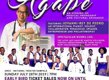 Agape: Mélange Kampala Begins
