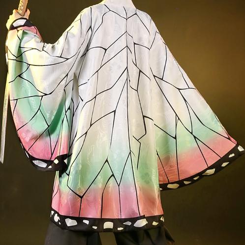 【高品質・羽織セット】鬼滅の刃 コスプレ  胡蝶しのぶ コスプレ衣装 スカート