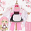 Thumbnail: 鬼滅の刃 コスプレ    甘露寺蜜璃 ピンク ミニ 着物 メイド コスプレ衣装