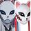 Thumbnail: 鬼滅の刃 錆兎 コスプレ お面 樹脂製