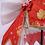 Thumbnail: Fate コスプレ ネロ・クラウディウス 赤 チャイナドレス  コスプレ衣装