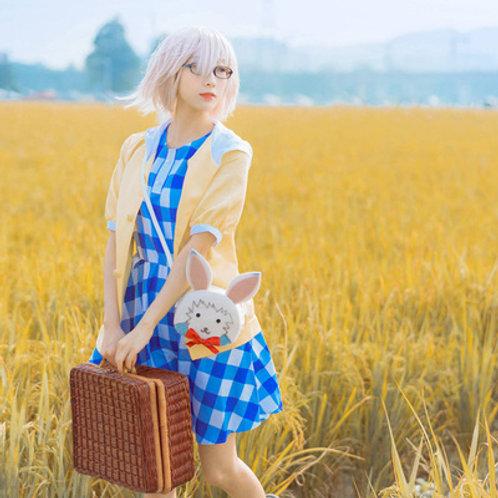 Fate コスプレ マシュ・キリエライト  私服  コスプレ衣装