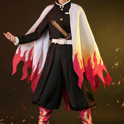 鬼滅の刃 コスプレ  煉獄杏寿郎 コスプレ衣装