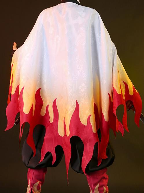 【羽織・小物セット】鬼滅の刃 コスプレ 煉獄杏寿郎 コスプレ衣装