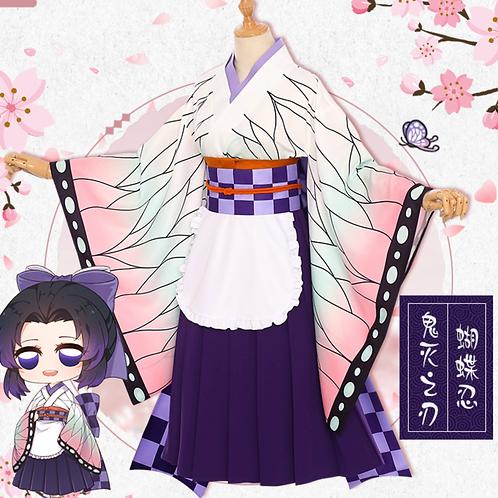鬼滅の刃 コスプレ  胡蝶しのぶ コスプレ衣装 スカート