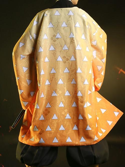 【羽織・小物セット】鬼滅の刃 コスプレ 我妻善逸 コスプレ衣装