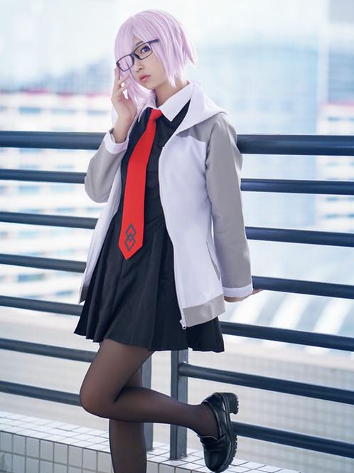 Fate コスプレ マシュ・キリエライト  制服 コスプレ衣装