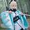 Thumbnail: Fate  コスプレ 沖田総司 ブルー コスプレ衣装