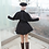 Thumbnail: Fate コスプレ マシュ・キリエライト  私服 黒 ポンチョ コート  コスプレ衣装