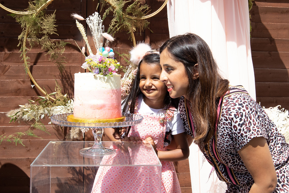 Manpreet Azad, allergy free birthday cake