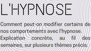 l'Hypnose ... en général. Explication concrète par l'Alternance, cabinet d'hypnose à Genève