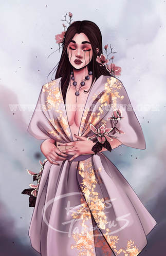 crying lady golden dress.jpg