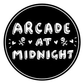 BAND LOGO FOR ARCADE AT MIDNIGHT
