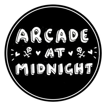 BAND LOGO FOR ARCADE AT MIDNIGHT