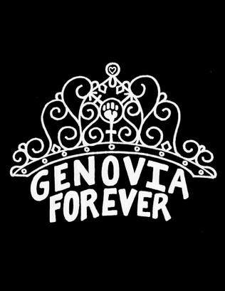 T SHIRT DESIGN FOR GENOVIA FOREVER