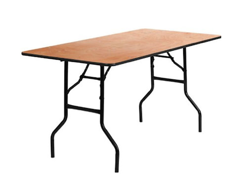 Banquet Table 8Ft