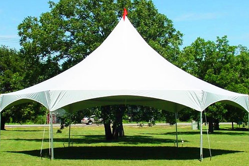 REGULAR MARQUEE HEXAGON 28X32 (6 POLES)