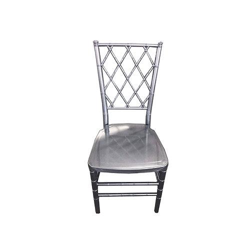 Diamond Chiavari Chair SILVER