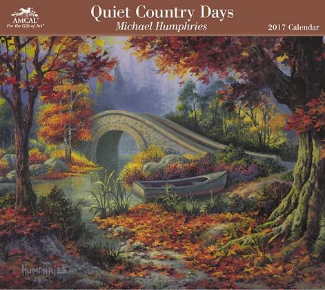 2017 Quiet Country Day Calendar