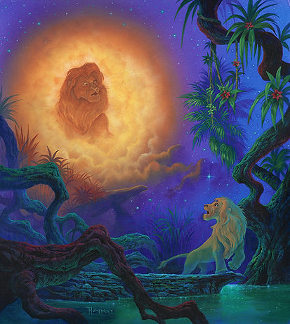 Michael Humphries', Remember Who You Are, Simba ©Disney