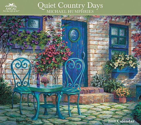2016 Quiet Country Days Calendar