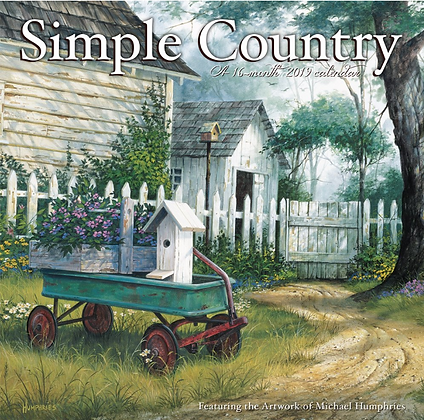Michael Humphries' 2019 Simple Country Calendar