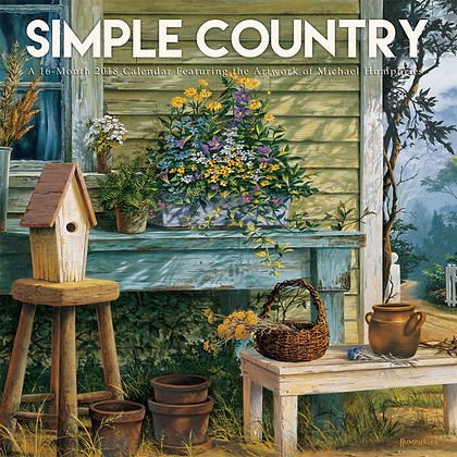 Michael Humphries' 2020 Simple Country Calendar