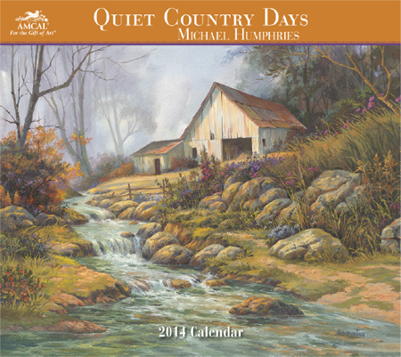2014 Quiet Country Days Calendar