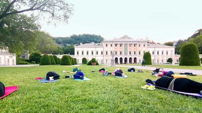 Yoga a villa Olmo   Como