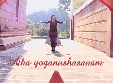 Atha yoganushasanam