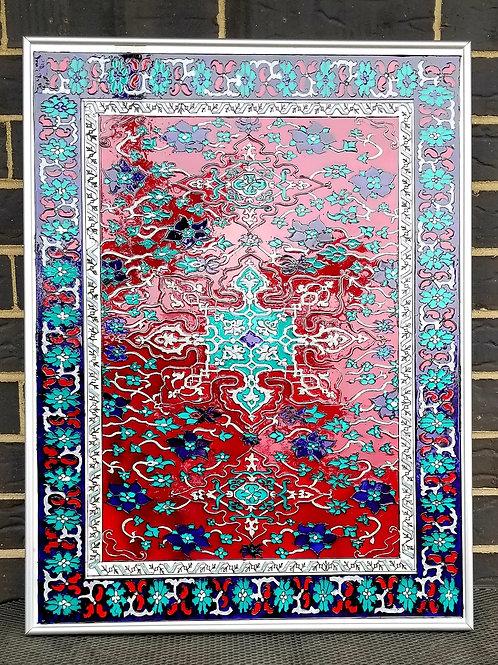 Star Ushak Carpet Painting