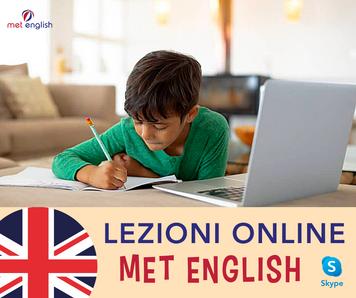 LEZIONI ONLINE MET ENGLISH