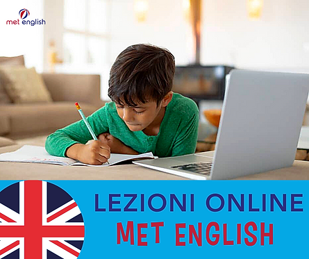 5 Lezioni Online Con MET ENGLISH