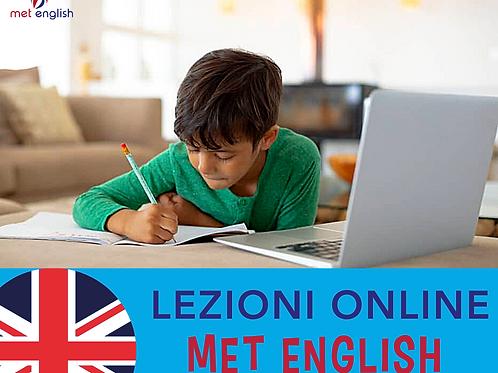 5 Lezioni Online Con MET ENGLISH