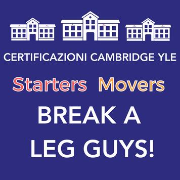 Corsi di preparazione alle Certificazioni Cambridge YLE