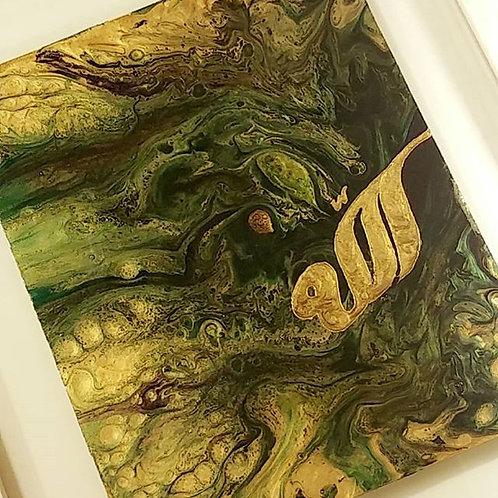Spiritual Awakening - Abstract art on Glass