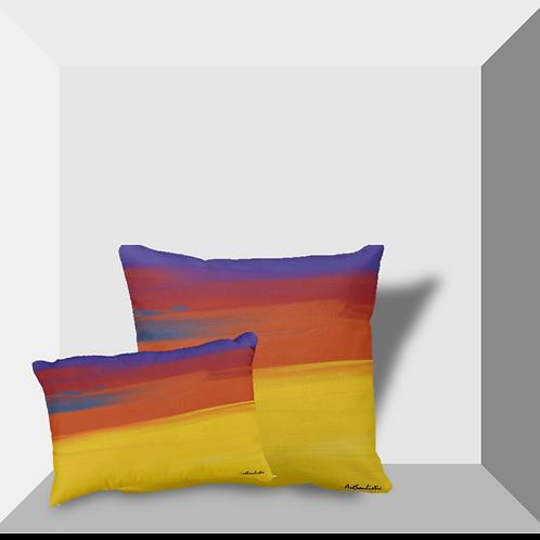 """Abstract I"" Throw Pillows"