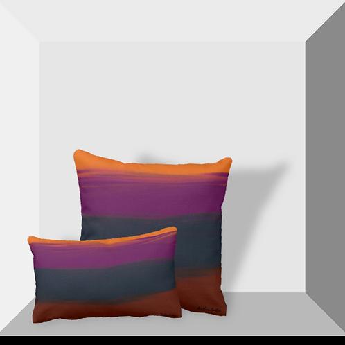 """Abstract II"" Throw Pillows"