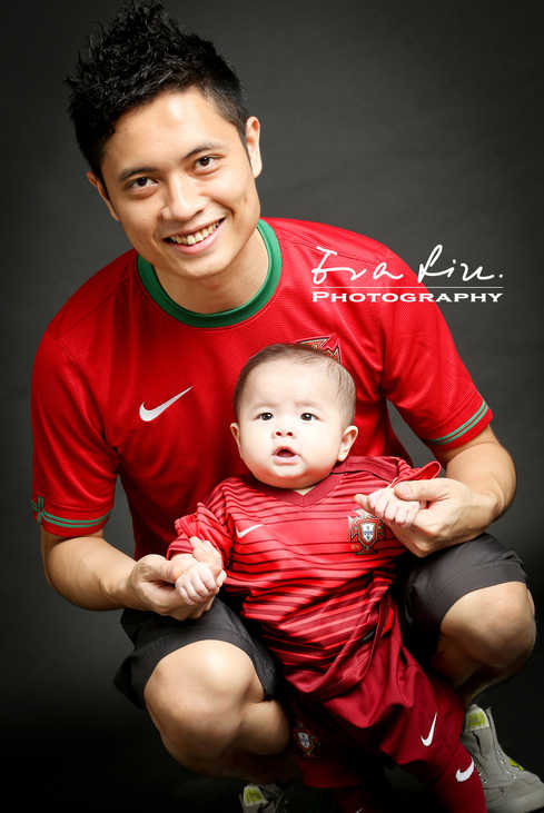 baby in Manchester United Uniform