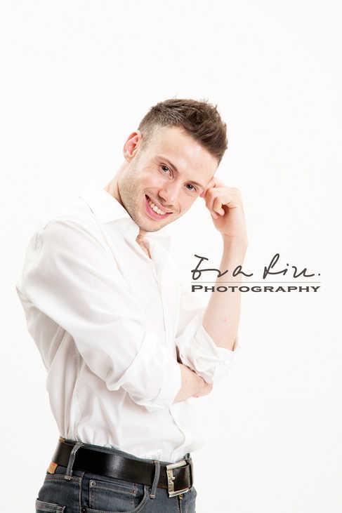 british male model posing