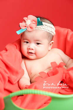 curious baby girl
