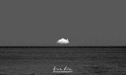 a piece of artistic cloud