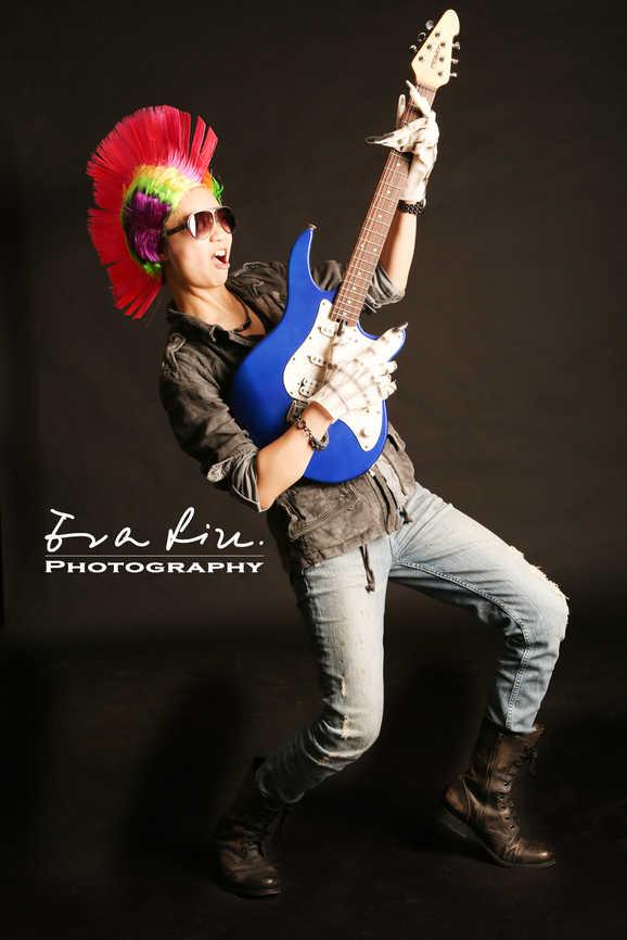 guitar playing crazy cousin