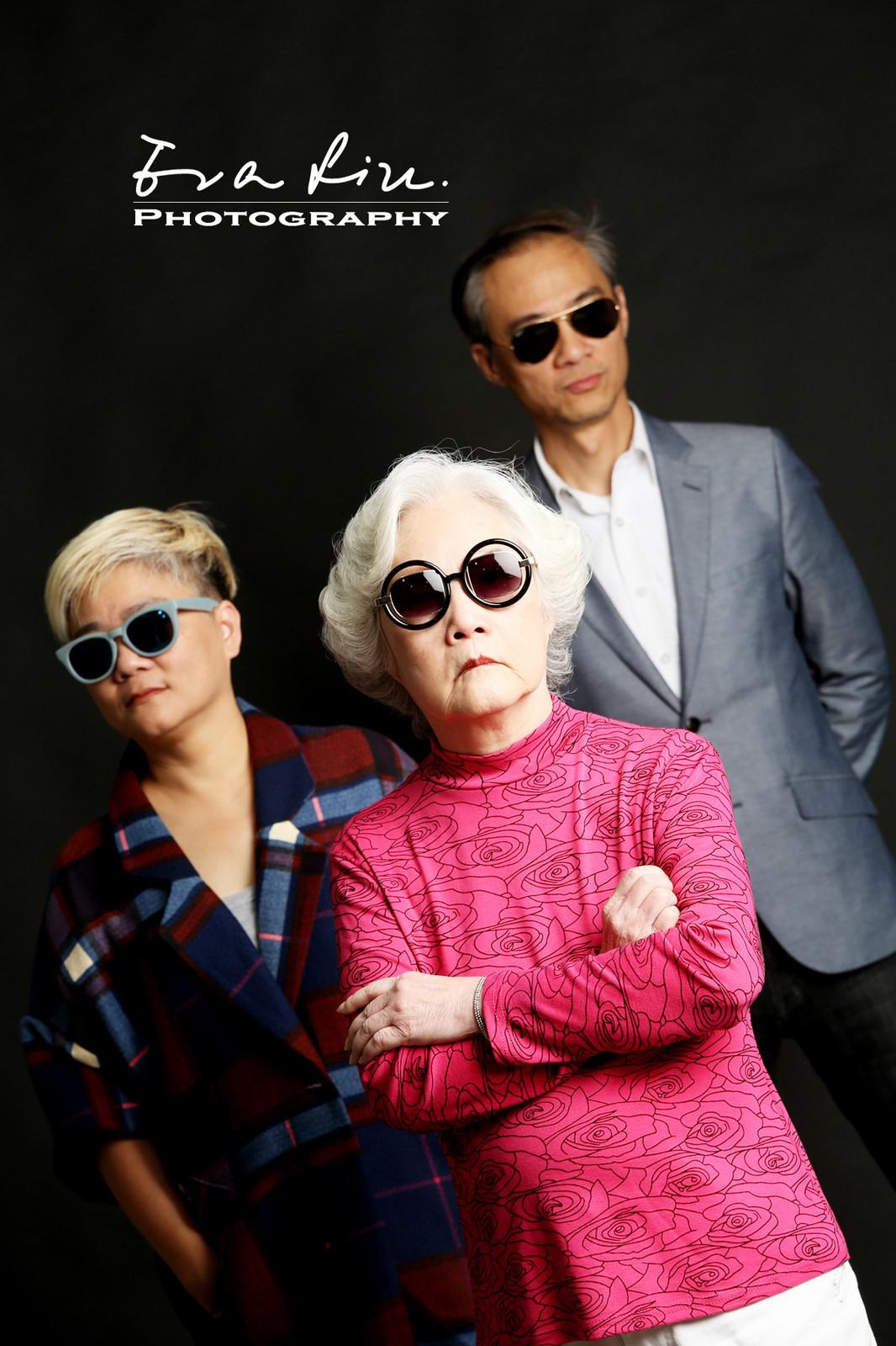 cool grandma and stylish mother