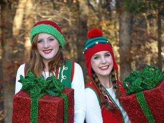 Spreading Christmas Cheer Elves